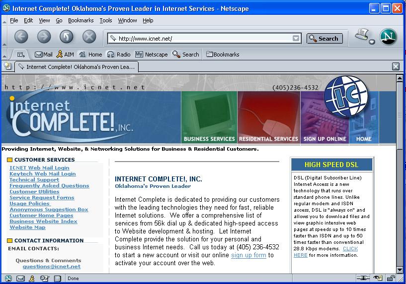 netscape 7.1